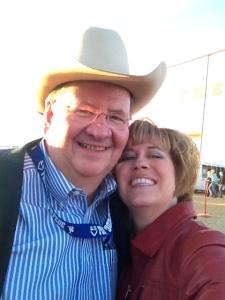 Dr. Lynn Phillips Rodeo Announcer