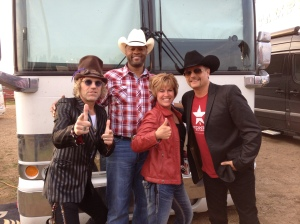 the Meet and Greet with Big and Rich and Cowboy Troy