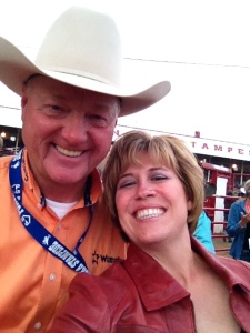 Les McIntyre Rodeo announcer